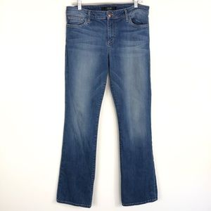 Joe's Jeans Skinny Bootcut Mid Rise Jeans